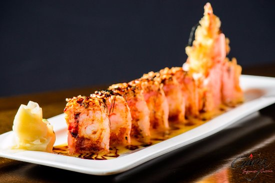 Wethersfield, CT: Angry Dragon Roll