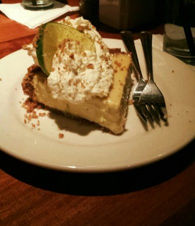 Chandler, AZ: Key lime pie. . .tangy and creamy.