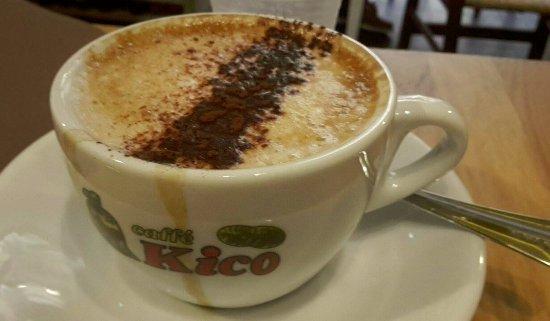 Provincia di Salerno, Italia: Soya cappuccino