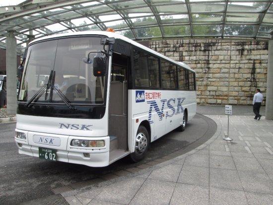 Moriya, Japonia: 守谷駅の送迎バスです。