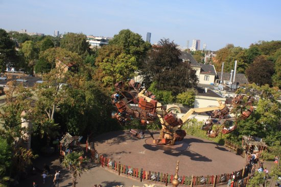 Drievliet : Some of the rides in the park
