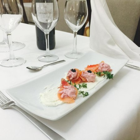 Murcia, İspanya: fusion de salmon