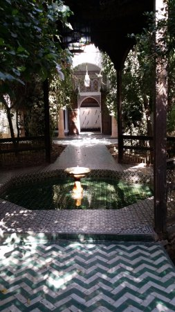 Dar Si Said Museum: Patio