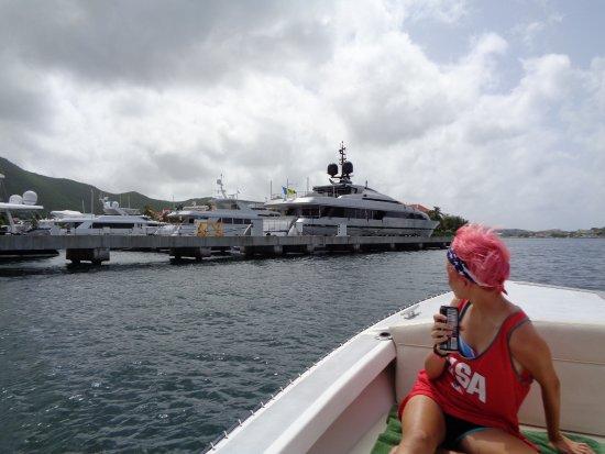 bahía de Simpson, St. Maarten: Marina