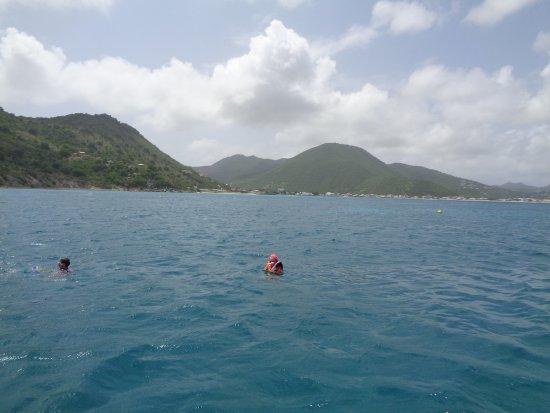 bahía de Simpson, St. Maarten: Snorkeling