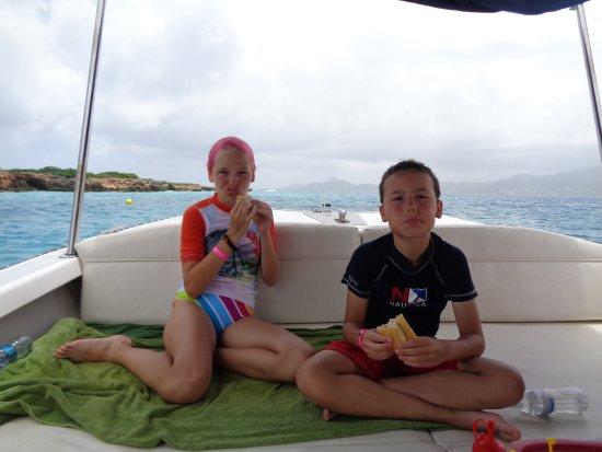Simpson Bay, St-Martin/St Maarten: picnic