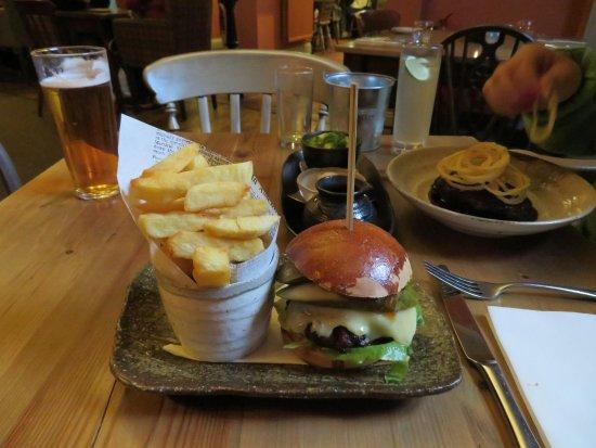 Tavistock, UK: Burger