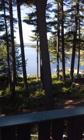 South Casco, ME: View from our Room