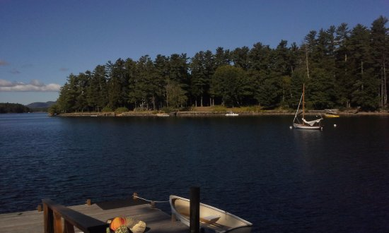 South Casco, ME: View from the Main Dock