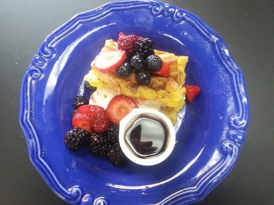 Lenoir City, TN: Stuffed French Toast with fruit.