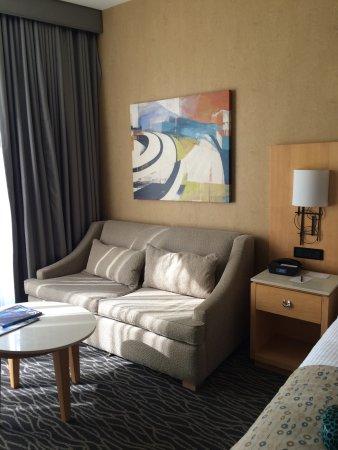 Warwick Seattle: sleeper sofa if needed