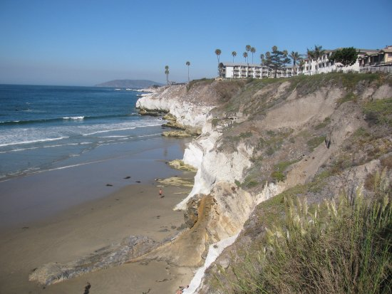 This is the view of the Pismo Lighthouse Suites. It's just to the right of the far building.