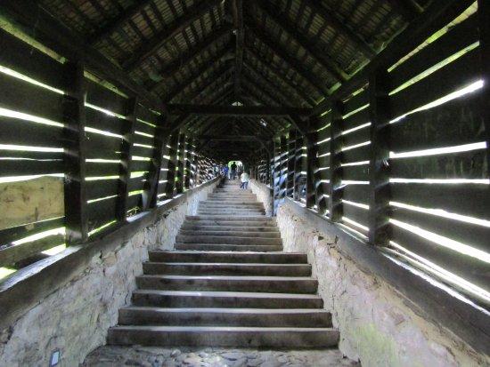 Scara Acoperita-Covered Stairway