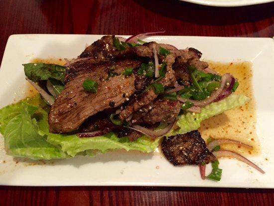 Falls Church, VA: Beef salad
