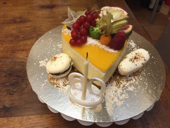 La Cadiere d'Azur, Francja: Une idée de ce que vous pouvez manger à notre table d'hôte, et des jus de fruits fait maison pou