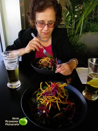 Toowoomba, Australie : the Thai salad