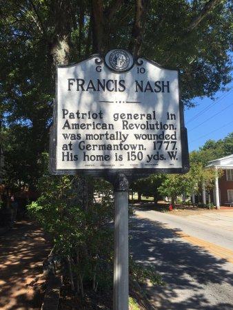 Hillsborough, NC: Historical marker