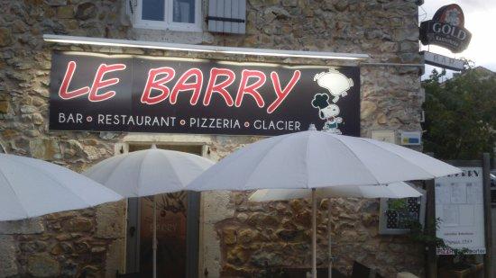 Saint-Remeze, Frankrike: Entrée du restaurant
