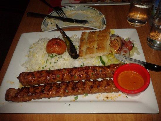shiraz turkish bbq restaurant platos para no quedarse con hambre