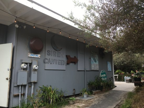 Stinson Beach, Californien: The canteen