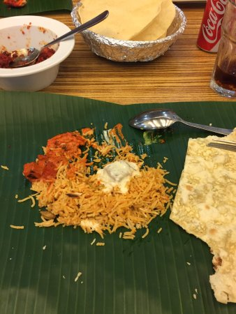 Good Indian food!
