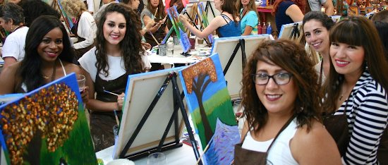 Painting picture of kelly jo designs by wine for Paint and wine albuquerque