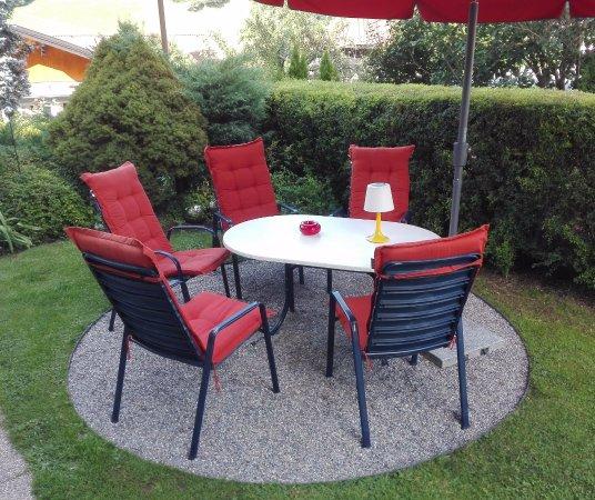 Afritz, Austria: giardino