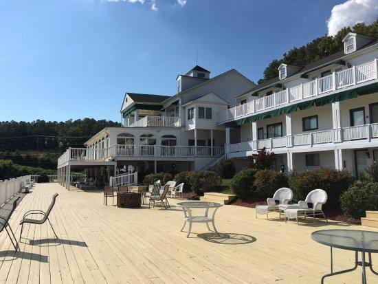 Dandridge, TN: Hotel from the deck