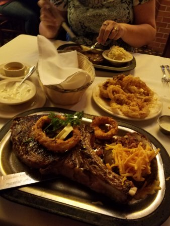 The 24oz Bone In Rib Eye Picture Of Sayler S Old Country Kitchen