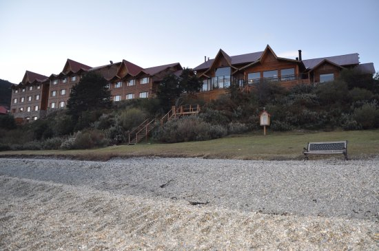 Los Cauquenes Resort & Spa: Hotel visto da praia