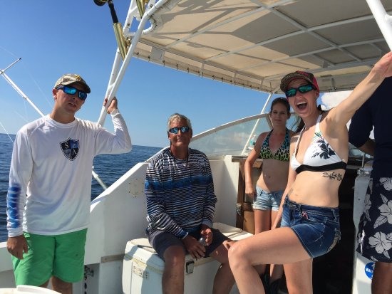 Placida, FL: Great day fishing with Captain Steve and Mitch. We caught a lot of fish. The weather was perfect