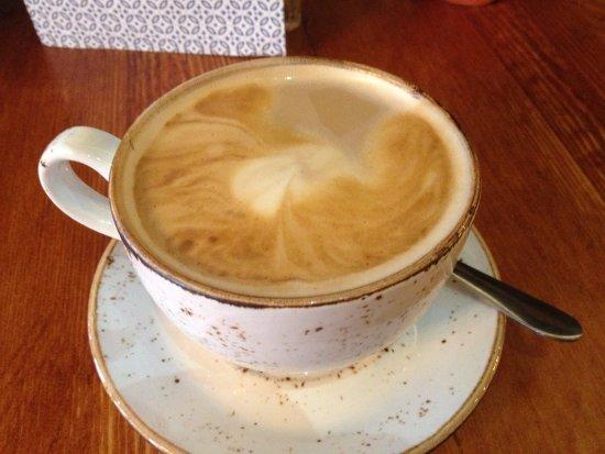 Yorkshire, UK: Latte - strong & good