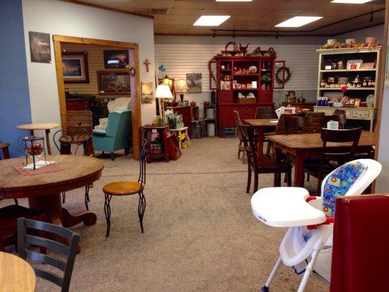 โบรกเคนโบว์, เนบราสก้า: Great coffee! Gift shop and wi-Fi!