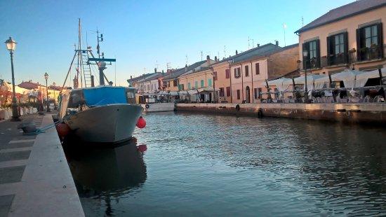 Cesenatico, Italia: Kanal