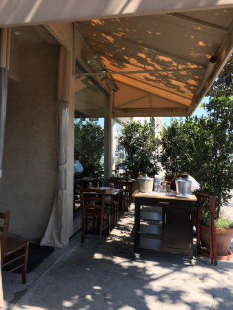 Angelini Osteria outdoor seating