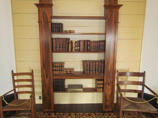 Athens, GA: Bookshelf in Library