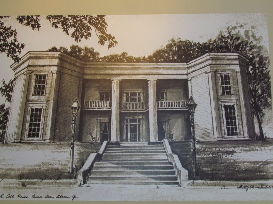 Athens, GA: Drawing of the House
