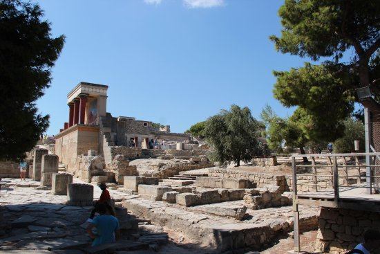 Knossos Archaeological Site Photo