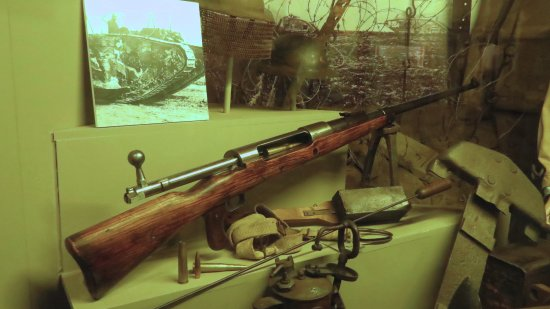 Hooge Crater museum: Rifle
