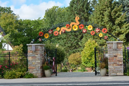 Sheboygan, WI: Front gate of the park.