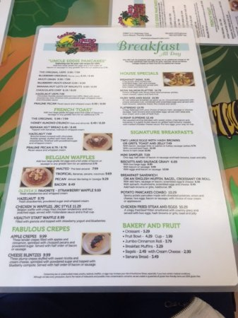 Juno Beach, FL: Menu