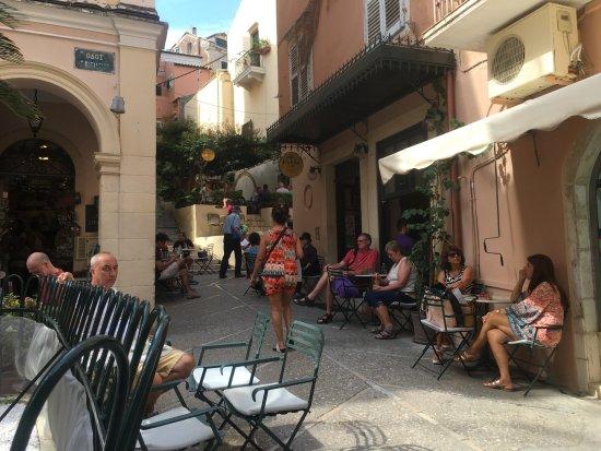 A Nice Hideaway - Εικόνα του Μικρό Cafe, Κέρκυρα (Χώρα) - Tripadvisor