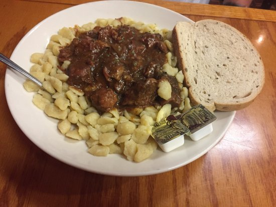 Richfield, OH: Hungarian goulash