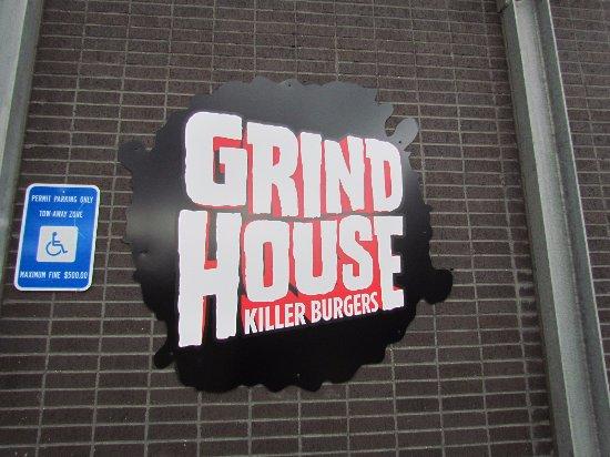 Grindhouse Killer Burgers: GrindHouse Sign