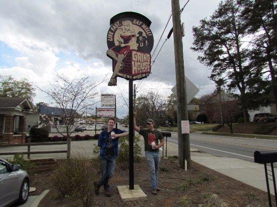 Grindhouse Killer Burgers: Sign