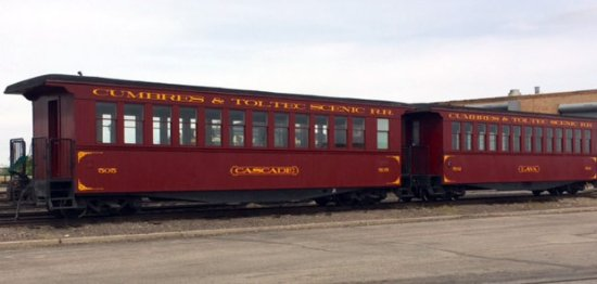 Antonito, CO: We traveled on railroad cars like this, very nice.