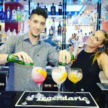Province of Malaga, Spanien: Baraboo Gin y Copas