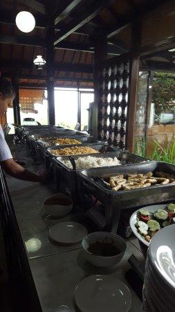 Baturiti, Indonesia: The buffet
