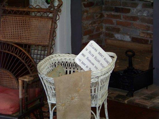 Tuscumbia, Αλαμπάμα: Sewing basket