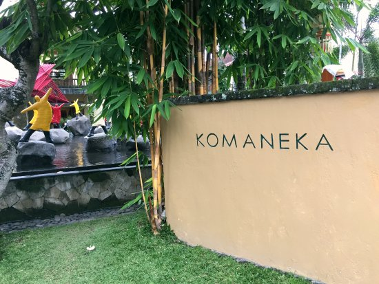 Komaneka at Monkey Forest: Hotel entrance